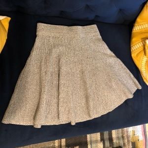 Club Monaco Gray fit &flare Skirt Sz XS